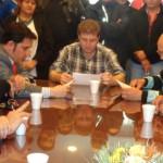 Melella y ATE firmaron un acuerdo salarial y por condiciones de trabajo