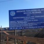 Arrancó la obra de ampliación de la sede sindical