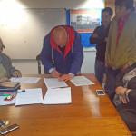 ATE mantiene reuniones con Gobierno y Municipio de Río Grande