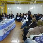 Ate participó de la charla debate por el cruce por aguas Argentinas