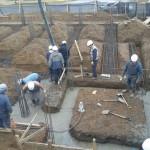 Continúan con los avances de la obra de ate Rio Grande