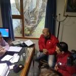 Ate se manifestó ante el consulado chileno