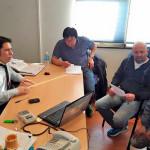 Reunión de ATE, con el Secretario de Finanzas de la municipalidad