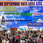 El 2 de Septiembre te pedimos que nos apoyes, VOTÁ LISTA AZUL