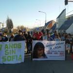 Siete años de la desaparición de Sofiá herrera, Ate seccional Rio Grande estuvo presente