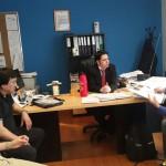 Dirigentes de ATE se reunieron  con el secretario de Finanzas de la Municipalidad de Río Grande