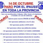 ATE. Decretó. PARO para el día 14 de Octubre en toda la Provincia de Tierra del Fuego. En defensa del IPAUSS.