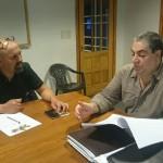 «Luis Raña cuestionó la reforma previsional y el paquete legislativo de Bertone»