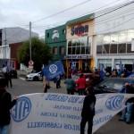 ATE se manifesto frentre a la Legislatura en Rio Grande.