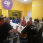 Compañeros acaba de finalizar la reunión en la sede de Sutef , en la misma se decidió como acción gremial dentro de la unidad de los gremios estatales para el día de mañana 17/03: * Concentración frente al hospital de Rio Grande a las 10:00 hs.