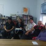 En la reunión llevada a cabo en la tarde de hoy en la sede del Sutef de la ciudad de Río Grande
