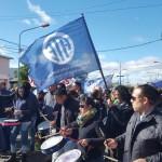 En estos momentos nos encontramos junto a otros gremios estatales entre ellos sutef y atsa en la legislatura de Calle Perito Moreno