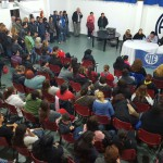 La Asociación Trabajadores del Estado Secciónal Río Grande, llevo a cabo una multitudinaria asamblea informativa en su cede gremial cita en Pacheco 756.