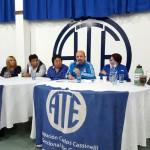 En la asamblea que se acaba de llevar a cabo hace instantes en nuestra sede sindical cita en Pacheco 756, se dio a conocer a los afiliados presentes el acta acuerdo firmada con el ejecutivo provincial para la apertura de la mesa técnica para la emergencia previsiónal.
