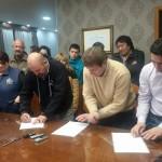 La Asociación Trabajadores del Estado Seccional Rio Grande, acaba de firmar un aumento salarial para el personal de la Municipalidad de Río Grande,