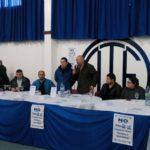 En la mañana de hoy se llevó a cabo una conferencia de prensa de Ate Rio Grande y Ate Tolhuin con el Secretario General GARRIGHAN, Vicente y el Secretario Gremial COCA, Cristian presentes, en nuestra sede sindical cita en Pacheco 756