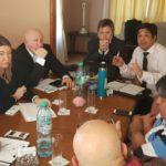 Ate reunido a nivel provincial con el ejecutivo.