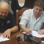 Se rubrico el Acta Acuerdo de aumento salarial entre La Asociacion Trabajadores del Estado seccional Rio Grande y el Municipio local