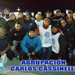 """ATE Rio Grande, presentes en la Vigilia del 02 de Abril junto a nuestros """"Veteranos de Guerra"""""""