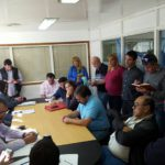 ATE Rio Grande, Se encuentra Presente en la Paritaria del escalafon Humedo convocada por el ejecutivo Provincial para el dia de hoy en el Ministerio de Trabajo