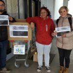 Ate Rio grande, en el dia del hoy puso en marcha la colecta Solidaria para las familias hermanas afectadas por el temporal de la provincia de Tucuman, la campaña se llevo a cabo afuera de la Anonima de la rotonda