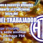 ATE seccional Rio Grande,invita a todos sus afiliado@s al Acto en conmemoración al Primero de Mayo «Dia del Trabajador