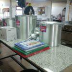 ATE Río Grande, se hizo presente en el nosocomio local para hacer entrega de una importante donación para uso del servicio de cocina