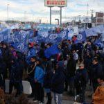 La Asociacion Trabajadores del Estado seccional Rio Grande,participamos de la jornada pactada para el dia de hoy en la Plaza de las Americas.
