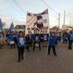 ATE seccional Rio Grande,en la tarde de hoy participamos de la marcha por el pedido de la pronta aparicion con vida de #MALDONADOSANTIAGO.