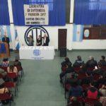 ATE seccional Rio Grande junto a la Universidad Maimonides de la ciudad Autonoma de Buenos Aires tomo juramento a 51 nuevos Licenciados en enfermeria,41 de Rio Grande y 10 correspondientes a Ushuaia.