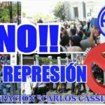 ATE Rio Grande, hace público el repudio a la represion sucitada por las fuerzas policiales de Gendarmería Nacional conducida por la Ministra Patricia bulrich en el día de ayer en la ciudad de Bs.As, frente al Congreso Nacional