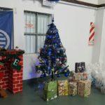 Excelente Tarde entre compañeros entregando el Presente Navideño a nuestros afiliados