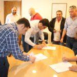 ATE seccional Rio Grade,se hizo presente en el Municipio de Río Grande para firmar el aumento del 100% en la Ayuda Escolar para los Empleados municipales