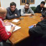 Se llevo a cabo en nuestra sede sindical una reunión con el secretario de Recursos Humanos de Gobierno Dr. Martin Solar y Claudio Garay dependiente de la misma secretaria