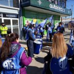 La Asociacion Trabajadores del Estado seccional Rio Grande,dentro del marco del Paro Decretado por Ate Nacional,en el dia de hoy nos manifestamos frente a la Delegacion de la Legislatura de nuestra Ciudad sita en Perito Moreno 187.