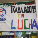 La Asociacion Trabajadores del Estado seccional Rio Grande, en estos momentos nos encontramos en la Farmacia de OSEF acompañando a los trabajadores de la Obra Social en la asamblea la cual se lleva a cabo en el horario de 11:00 a 14:00hs.