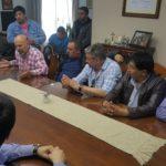 La Asociación Trabajadores del Estado seccional Río Grande,en el dia de hoy,nos hicimos presentes en el Municipio para llevar a cabo una reunión con el intendente Melella Gustavo y su gabinete.