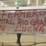 La Asociación Trabajadores del Estado seccional Rio Grande,una vez más se hace presente para acompañar el legitimo reclamo de los trabajadores. Desde las 00:00 de este Lunes 14/01,