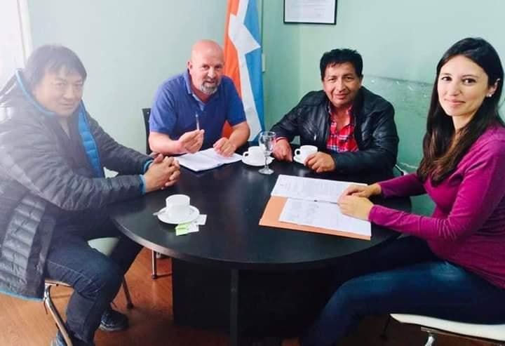 La Comisión Directiva de ATE seccional Río Grande se reunió con la concejal Laura Colazo.