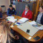 La asociación Trabajadores del Estado a nivel Provincial,junto a la cúpula de Río Grande Tolhuin y Ushuaia en el día de hoy recibió a los médicos del Hospital Regional