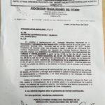 La Asociación Trabajadores del Estado seccional Río Grande,ha resuelto adherir al PARO NACIONAL de 24 hs a partir de las 00:00 hs del día 29 de mayo