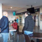 La Asociación Trabajadores del Estado seccional Río Grande,en el día hoy llevamos adelante una elección de delegados en el ANAC Aeropuerto. En esta oportunidad el compañero elegido por los afiliados del sector fue SALGUERO, Juan.
