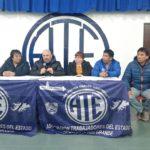 La Asociación Trabajadores del Estado seccional Río Grande,en el día de hoy resolvimos declarar el Estado de Alerta y Movilización para el ámbito del Gobierno provincial y Municipal.