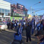 La Asociación Trabajadores del Estado seccional Río Grande,en estos momentos nos encontramos presentes manifestandonos frente a la legislatura de nuestra ciudad sito en calle Perito Moreno en el Marco del Plan de Lucha declarado por nuestra entidad sindical.