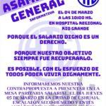 ATE CONVOCA ASAMBLEA GENERAL