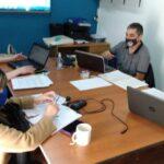 ATE Río Grande  informa que en el día de hoy nuestra secretaria Adjunta Violeta Santander junto al pro secretario de finanzas José VALDIVIEZO y nuestro paritario municipal Mauro VEGA